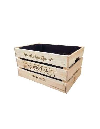 Huerto Caja de Madera 46x31xh25 COCOPOT - 1