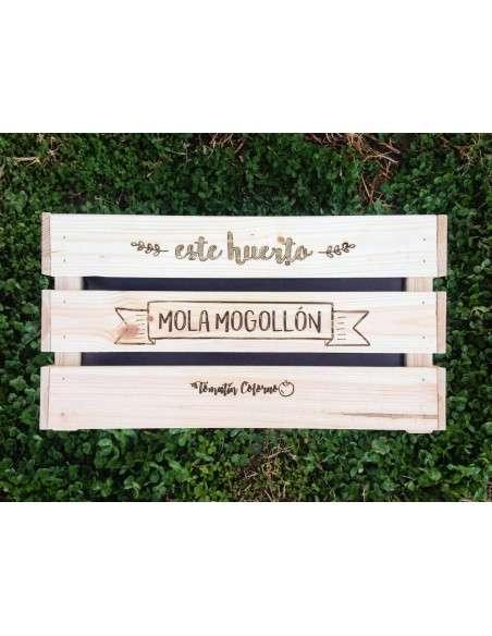 Huerto Caja de Madera 46x31xh25 COCOPOT - 2