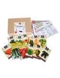 kit Semillas Ecológicas Primavera 12 sobres