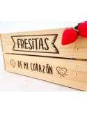 Caja Huerto de Fresas 23x31xh15