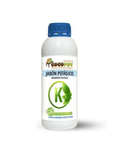 Jabón Potásico 1 litro Tratamiento Ecológico COCOPOT - 1