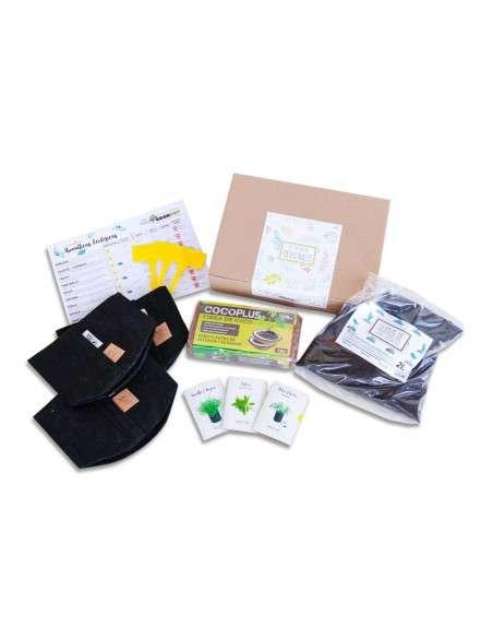 Kit Autocultivo Plantas Medicinales en Maceta COCOPOT - 1