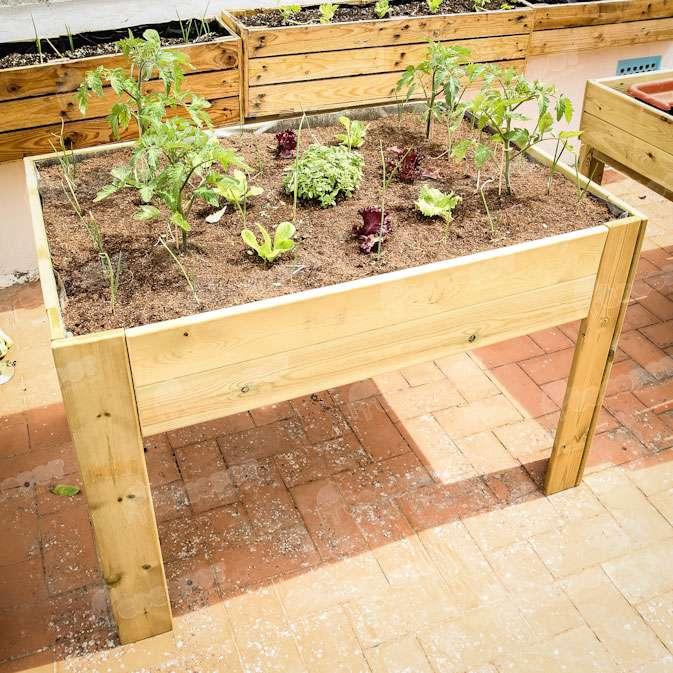 Las mesas de cultivo blog cocopot huerto y jard n for Mesa de cultivo casera